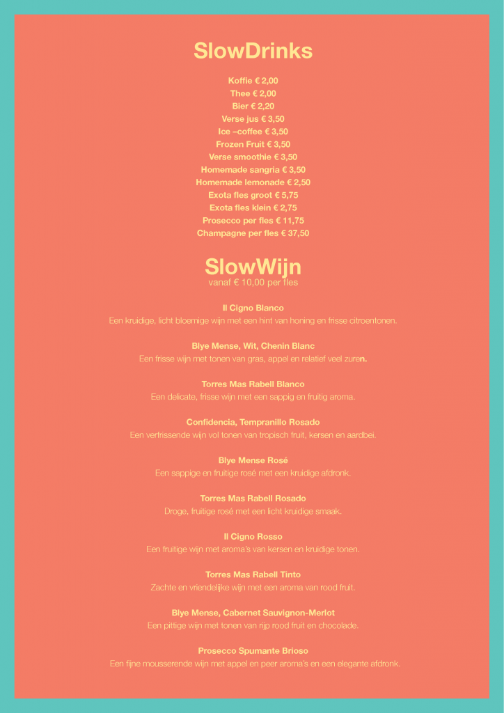 SlowDrinks