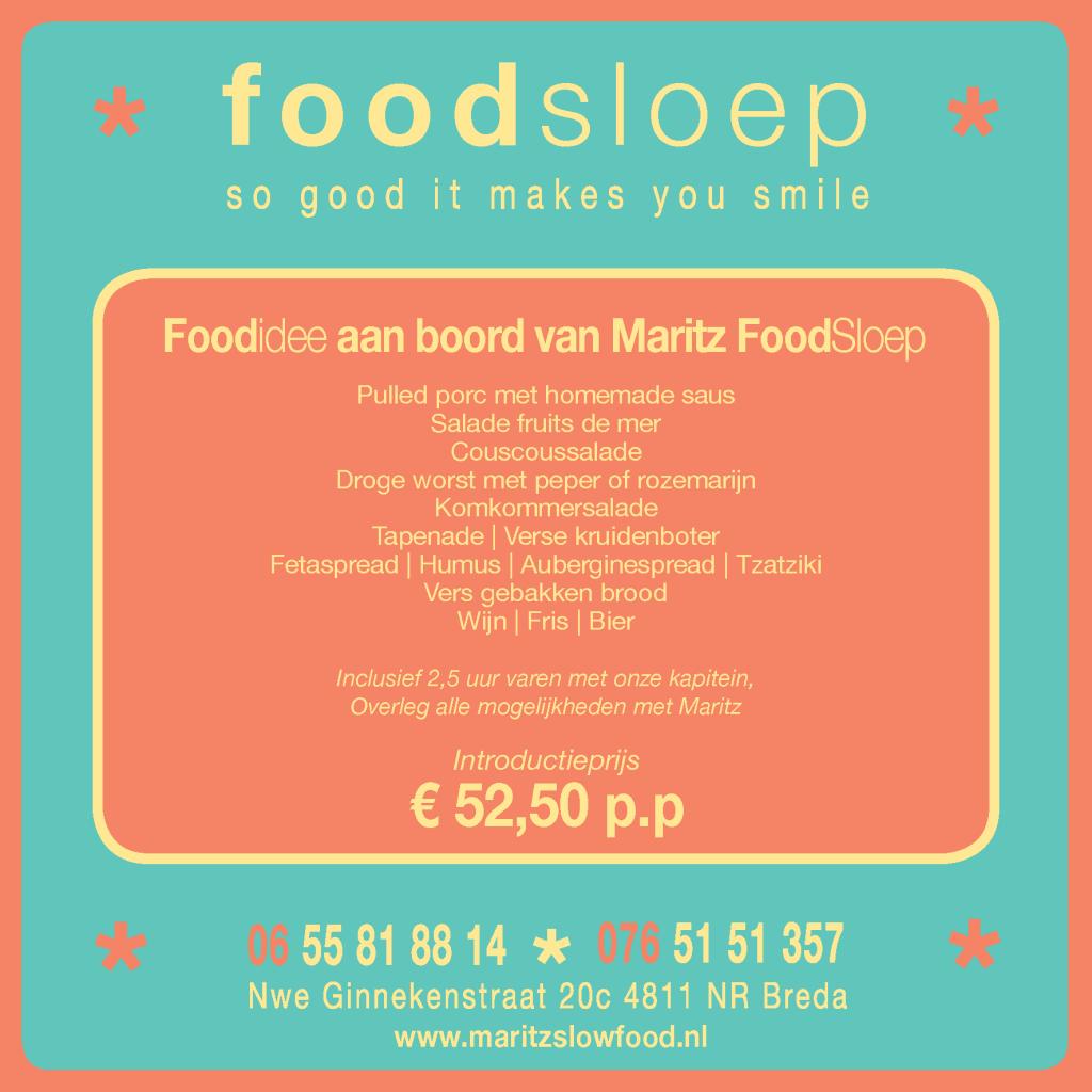 FoodSloep menu