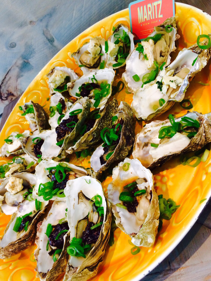 oesters open